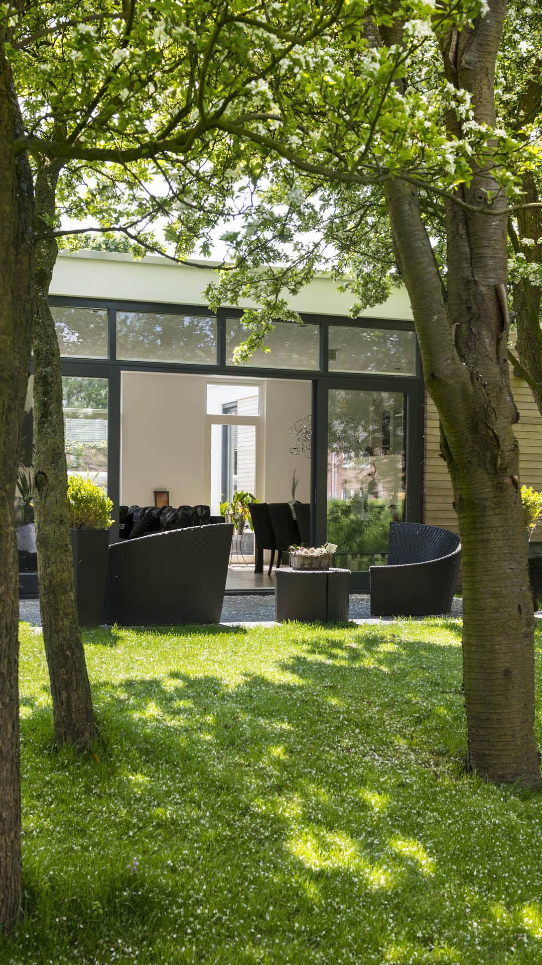 Architectuur nootdorp gooland renovatie aanbouw interieur bungalow 13 studio d11 - Architectuur renovatie ...
